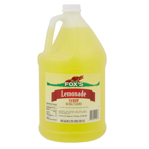 Fox's Limonata Surubu - Lemonade Syrup 3.78 Liter ( 1 Gallon )