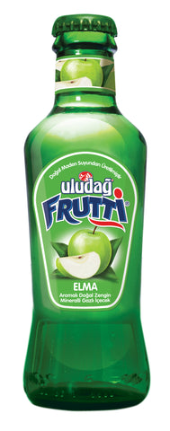 Uludag Frutti Maden Suyu Elmali - Frutti Apple Mineral Water 6 Pack 200 Ml ( 6.7 Oz )