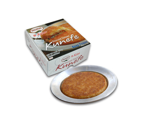 Nema Kunefe 3'Lu - Cheese & Shredded Dough Dessert 3 Pcs 396 Gr ( 14 Oz )