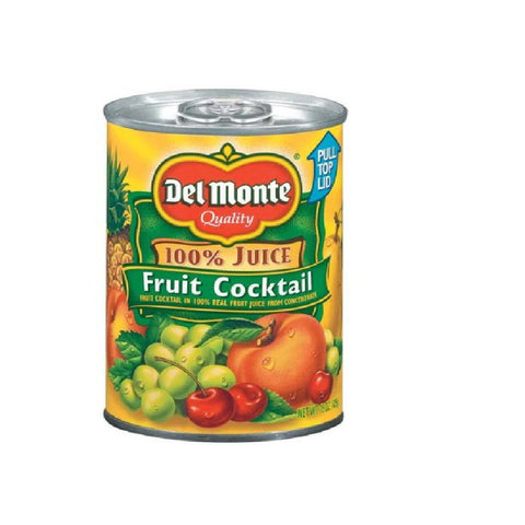 Del Monte Fruit Cocktail 100% Juice - 12 Pack