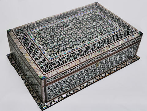 Large Egyptian Mosaic Box