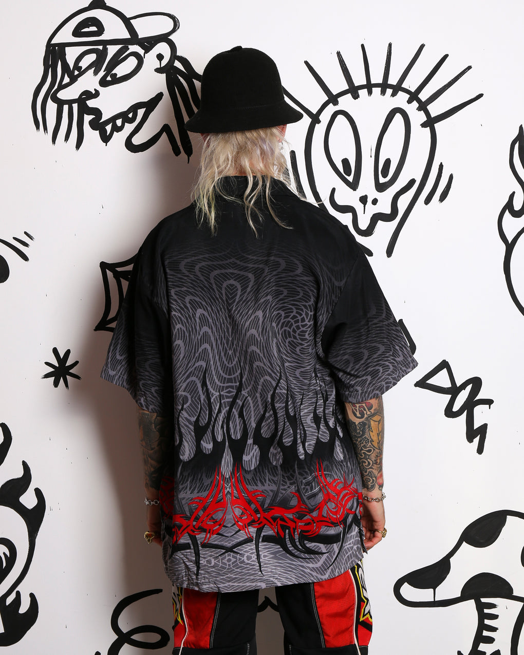 TRIBAL WIG OUT SHIRT