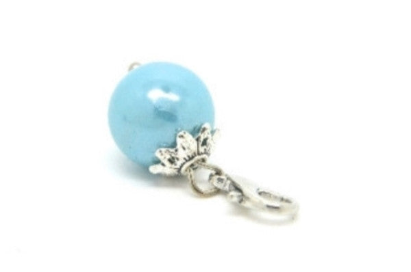 Sky Blue Pearl Dangle