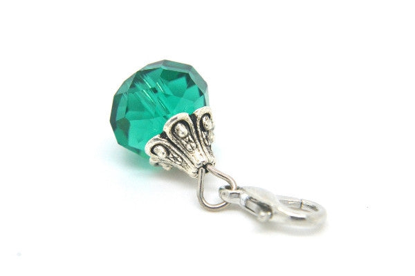 Emerald Crystal Dangle