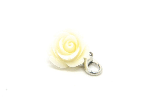 Ivory Flower Dangle