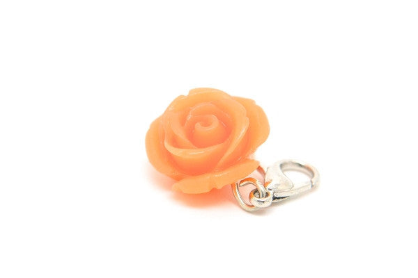 Orange Flower Dangle
