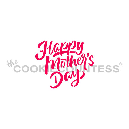 Happy Mother's Day Brush Script