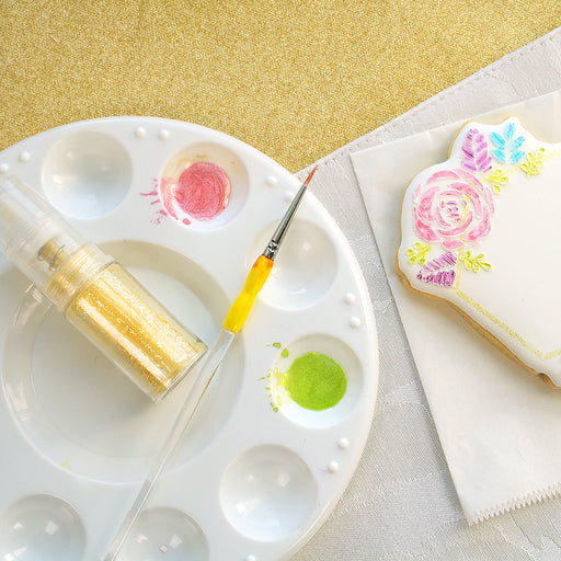 Round Palette for Edible Paints