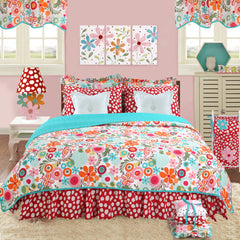 Floral Queen Bedding Set Lizzie Collection