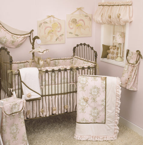 Lollipops & Roses 8pc Crib Bedding Set