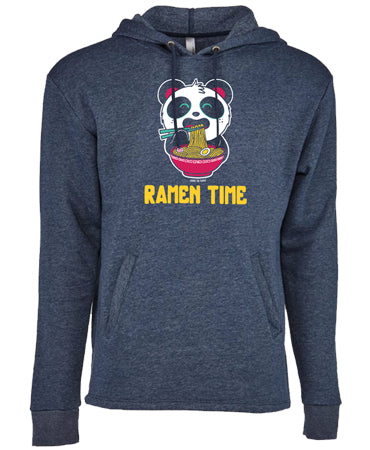 Ramen Time Unisex Pull-Over Hoody by Pandi the Panda