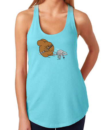 Empire Exercise Women's Tank Top by Fat Rabbit Farm