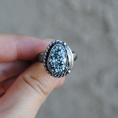 RESERVED: New Lander Chalcosiderite Ring, Size 7-7.25