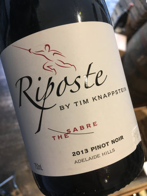 Riposte by Tim Knappstein Sabre Pinot Noir 2013 75cl