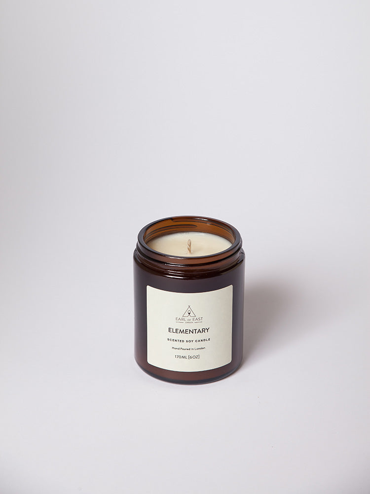 Elementary Soy Wax Scented Candle