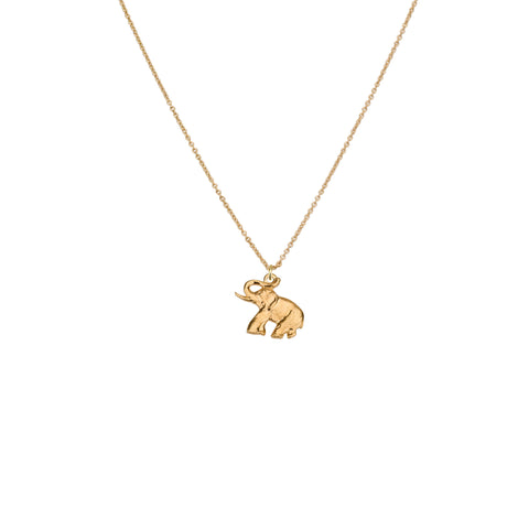 Necklaces - Elephant & Helen Chain Necklace
