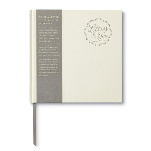 Letters To You Keepsake Book - Project Nursery