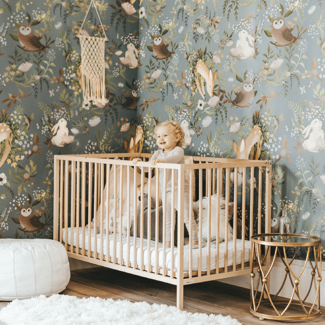 Oh Deer Wallpaper Mural - Project Nursery