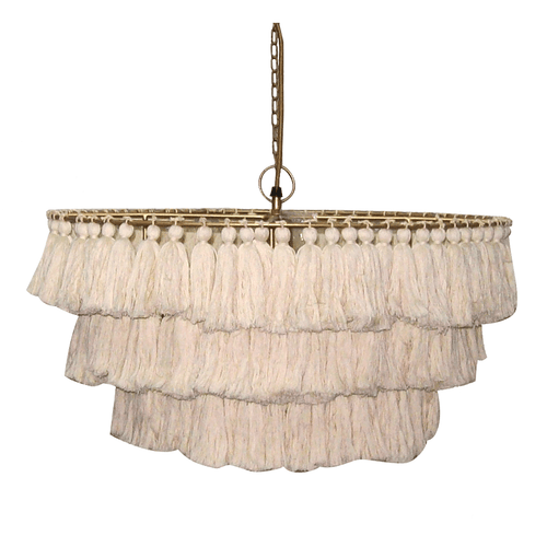 Fela Tassel Chandelier - Project Nursery