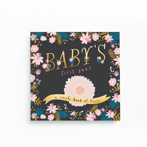 Golden Blossom Memory Book - Project Nursery