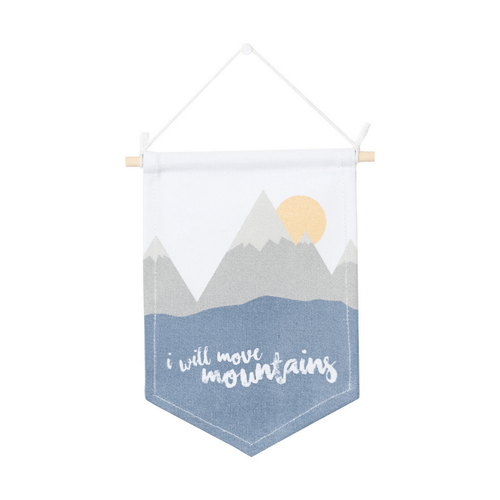 Mountains Wall Banner - Project Nursery