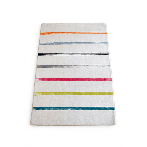 Rainbow Stripe Rug - Project Nursery