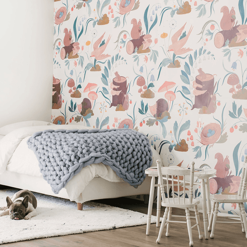 Pippie Wallpaper Mural - Project Nursery