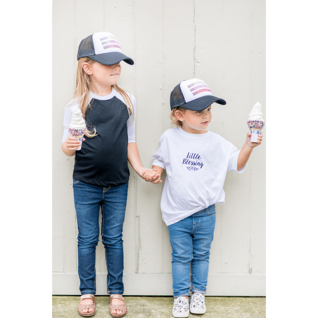 Best Big Sis Trucker Hat - Project Nursery