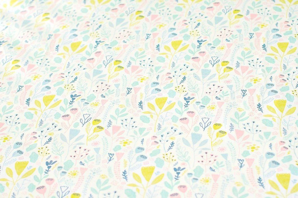 Pink Woodland Crib Sheet - Project Nursery