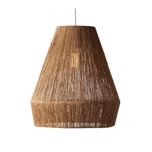 Jute Pendant Light - Project Nursery