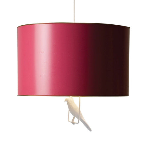 Tin Hanging Lamp in Pink - Project Nursery
