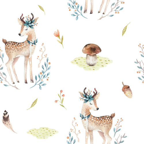 Fawnroom Mural Wallpaper - Project Nursery