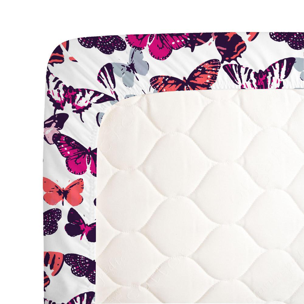 Butterfly Kisses Crib Sheet - Project Nursery