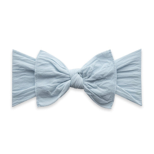Classic Knot Headband in Chambray - Project Nursery