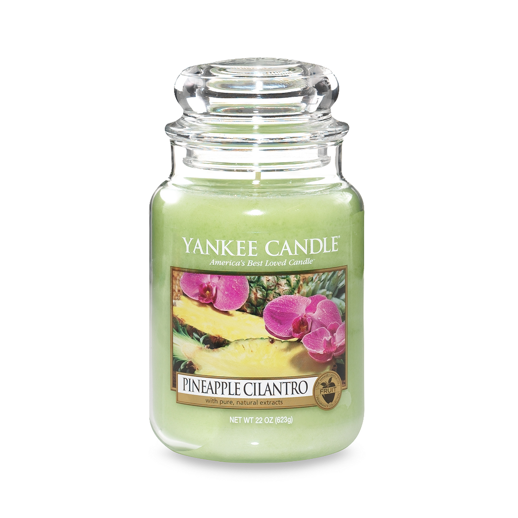 Yankee Candle® Housewarmer® Pineapple Cilantro Large Classic Jar Candle - Shark Tank Taiwan