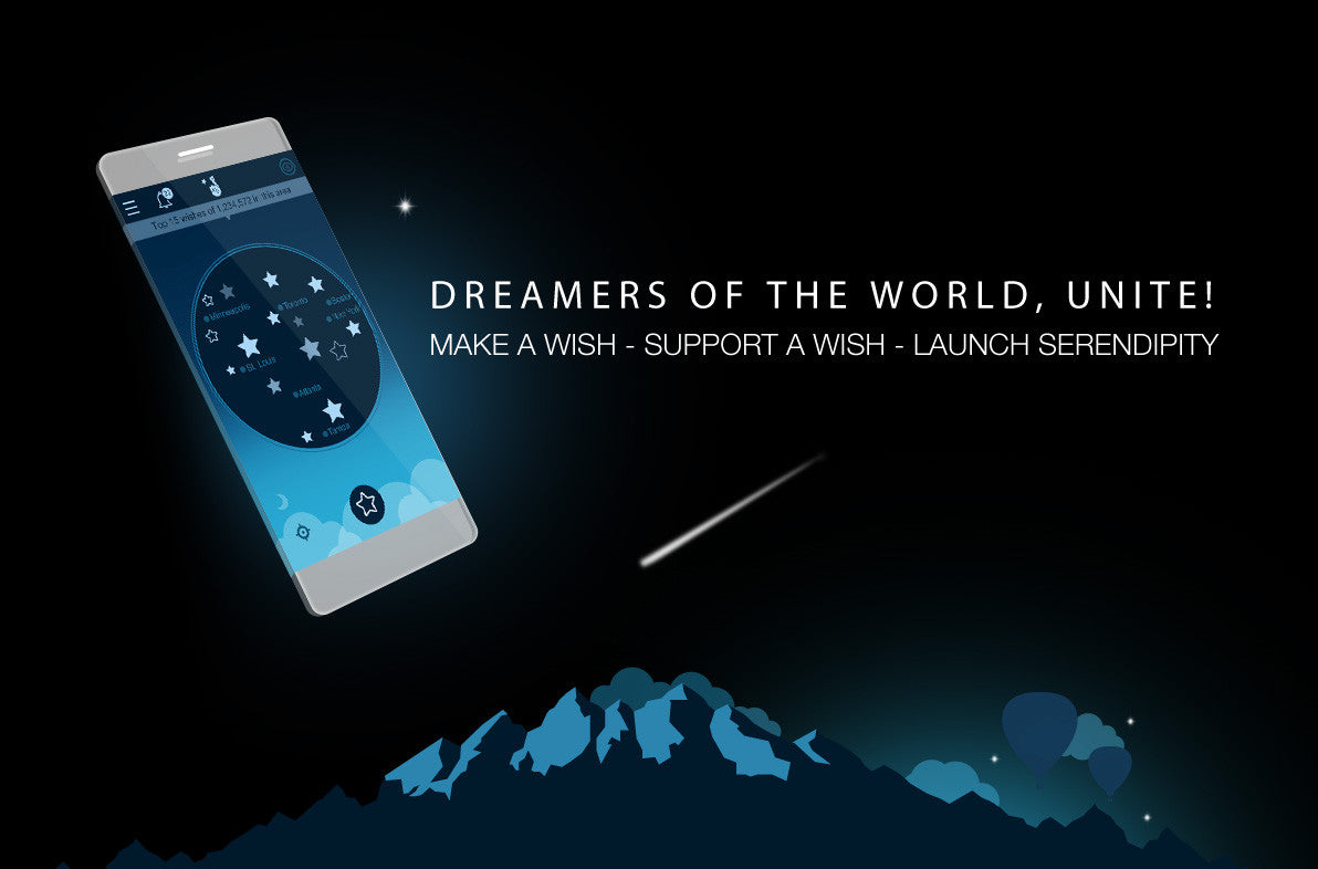 Wish2Wish ­- Share your dreams with the world - Lovefone, London