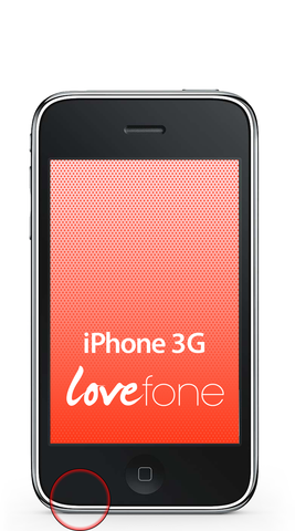 iPhone 3G microphone replacement - Lovefone