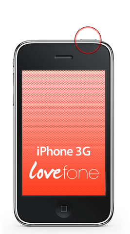 iPhone 3G power button replacement - Lovefone