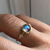 SAVANNAH LABRADORITE RING