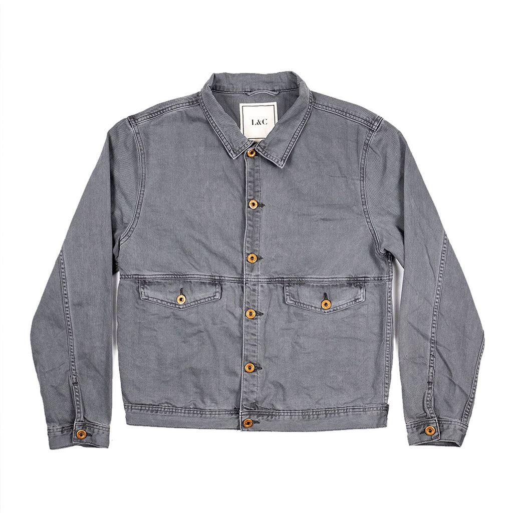 The Vagabond Denim Jacket in Gray