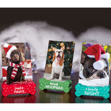 Pearhead's pet photo stands