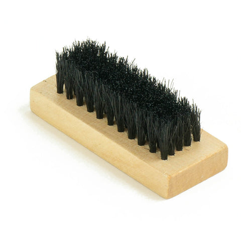 "3"" Mini Wooden Suede Dark Brush"