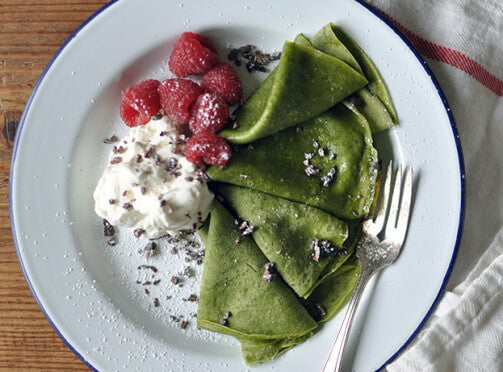 Get Creative with This Matcha Crepe Recipe