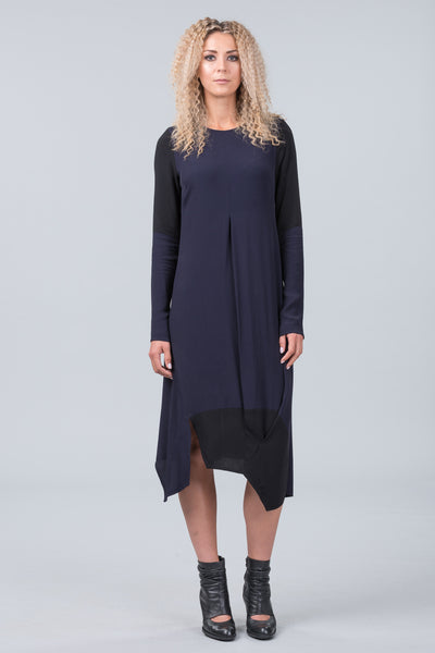 Silent Jazz dress - midnight
