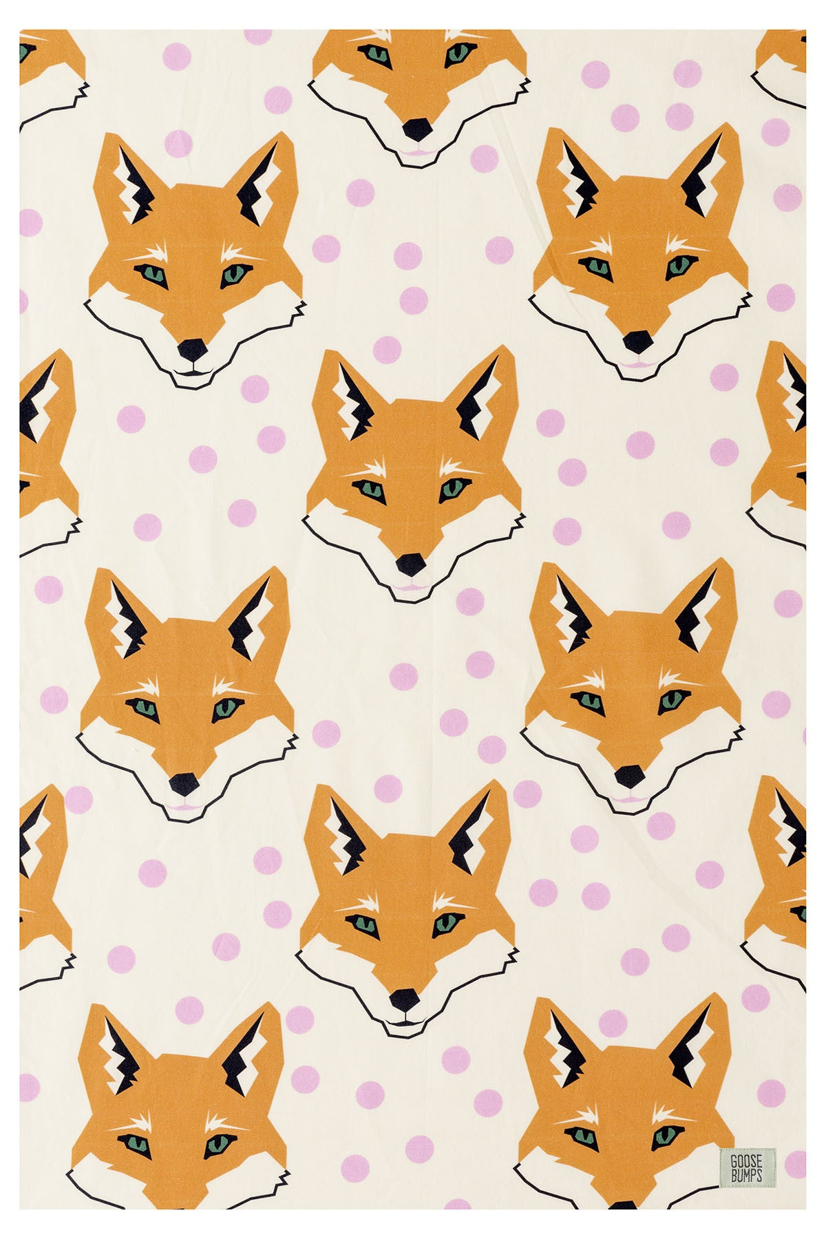 Fox Cot Fitted Sheet