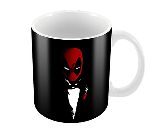 Deadpool Tuxedo 11 oz Coffee Mug