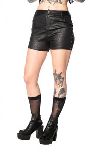 Banned Apparel - Glam Goth Leo Short