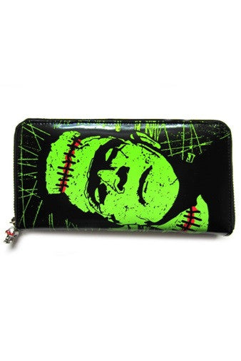 Banned Apparel - Frankenstein Wallet - Egg n Chips London