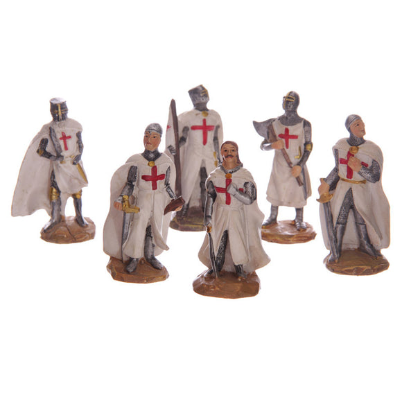 Egg n Chips London - Fantasy Mini Collectable Knight Figurines - Egg n Chips London