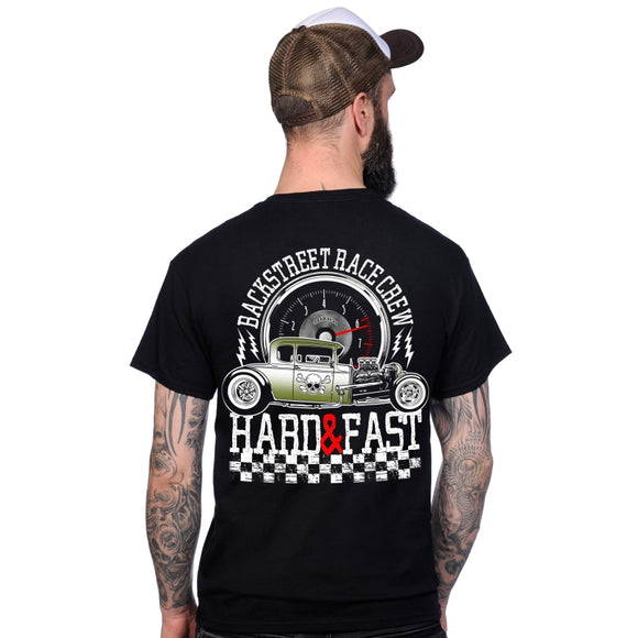 Toxico Clothing - Hard & Fast Tee (Black)